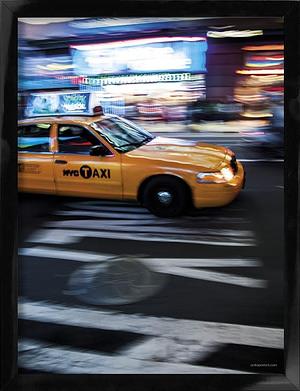 NY Cab 30x40 cm