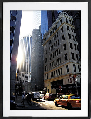 NY solnedgang 50x70 cm
