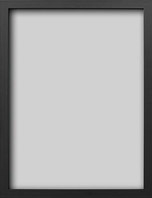 sort blank 50x70 cm træramme til plakater