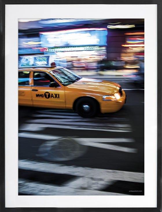NY Cab 50x70 cm