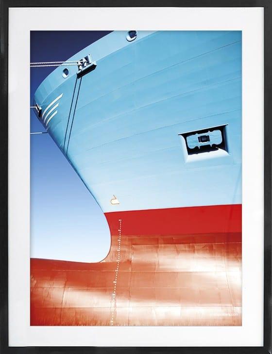 Containerskib 50x70 cm