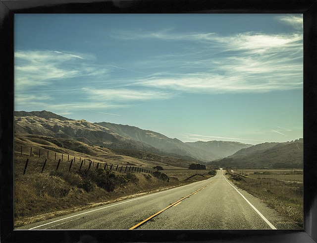US Highway Route 1 50x70 cm