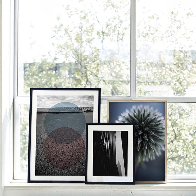 billede Rammer i sort blank 40x50 cm