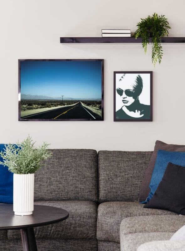 Nevada Highway 50x70 cm